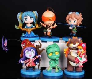 League of Legends FIGURKI FIGURKA 6 SZTUK