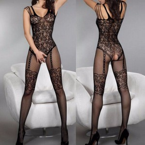 Bodystocking BODY STOCKING BIELIZNA SEX KOMPLET