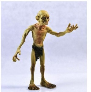 WŁADCA PIERŚCIENI LORD OF THE RINGS FIGURKA GOLLUM HOBBIT