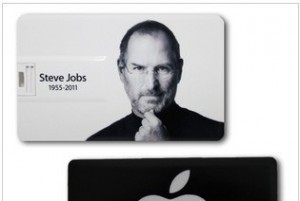 PENDRIVE USB 8 GB APPLE ULTRA CIENKI STEVE JOBS