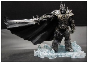WOW WORLD OF WARCRAFT FIGURKA KING ARTHRAS LICH