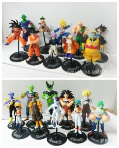 DRAGON BALL ZESTAW 20 FIGUREK