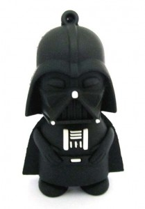 PENDRIVE USB 4 GB STAR WARS LORD DARTH VADER