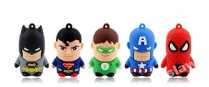 PENDRIVE USB BATMAN SUPERMAN SUPERBOHATER 32 GB
