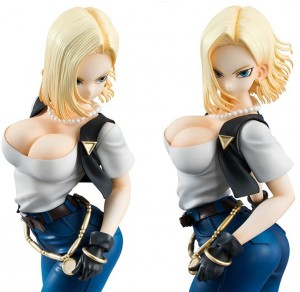 FIGURKA DRAGON BALL HENTAI BULMA C18 ANDROID 18 GOKU VEGETA ANDROID 18 C18
