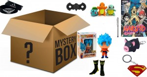 DRAGON BALL GOKU , VEGETA , TRUNKS , GOHAN ANIME MANGA JAPONIA MYSTERY BOX PACZKA TAJEMNICZA